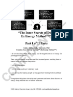 Part I of Part II Inner Secrets of the Ez Energy Method Doc