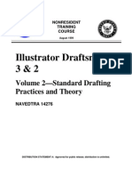 Navy Illus. Draftsman 2 Drafting Pract.theory