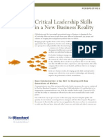 Blanchard Critical Leadership Skills