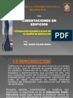 Diapositvas Cimentacion Curso de La Construccion