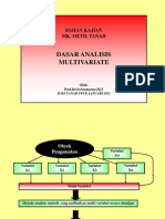 Mpt Dasar Analisis Multivariate