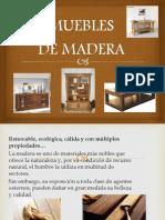 Muebles Elaborados a Medida de Madera