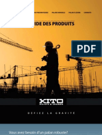 Kito Product Guide (french)