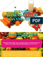 Fuentes Alimentarias de Las Vitaminas