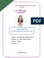 Monografia de Huancayo
