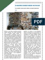 Una librería en Madrid donde puedes no pagar