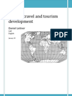 Travel and Tourism Development