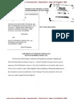 SEC v Spongetech Et Al Doc 269 Filed 11 Mar 13