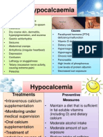 Hypocalcemia PPT