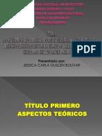 DIAP. SUSTENTACIÓN D PROY.  D TESIS - AGRESIDAD INFANTIL - JESSICA
