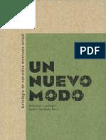 Un nuevo modo. Antología de narrativa mexicana Actual.