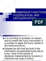 Fuzzification & Defuzzification