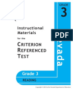 NV Grade 3 Reading