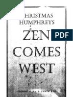 Zen Comes West