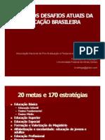 Desafios PNE-SBPC 2011