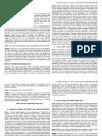 Art. III, Sec. 2 & 3 Case Digest Compilation