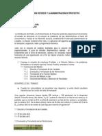 Inocencio meléndez Julio. La Distribución de Redes y la Administración de Proyectos.