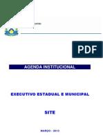 Agenda Institucional - Telefones e Endereços