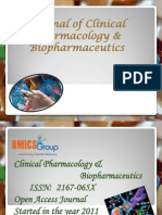 Journal of Clinical Pharmacology & Biopharmaceutics