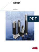 ABB High Voltage Current Limiting Fuses ABB CEF HV Fuses