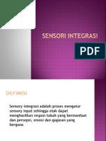 sensory integrasi