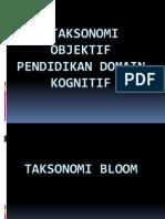 Taksonomi Bloom