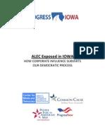 ALEC Exposed in Iowa