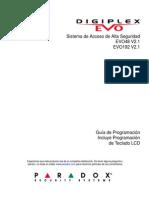 EVO48 y EVO192 Programacion