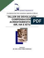 Taller Devolucion, Compensacion y Acreditamiento