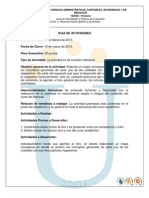 Guia y Rubrica de Evaluacion Act 2 Reconocimiento General y de Actores