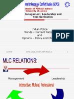 Indian Police Management Leadership Communication