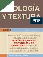 REOLOGÍA Y TEXTURA 2