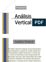 Evaluacion Financiera Analisis Vertical y Horizontal