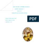 Practica 9 de Organica Extraccion Con Disolventes Organicos