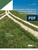 Whitepaper - Cross-Cultural Models