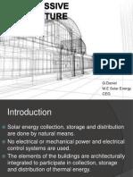Solar Passive Architecture