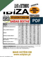 Ibiza Caribe 3* Azuline Hotel Bergantin 3* Reg 29.07