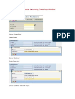 LSMW Using Direct Input Method