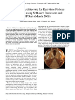 A Flexible Architecture for Real-time Fisheye Correction using Soft-core Processors and FPGA's