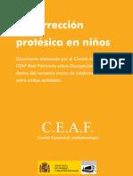 La correccion protesica en niños_CEAF