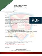 Formulir Pendaftaran - Sampoerna Academy Year End Camp