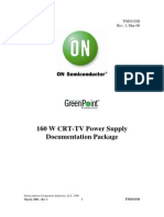 160 W CRT-TV Power Supply