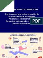 Efectos Simpaticomimeticos y Antagonistas Anhihipertensivos