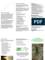 Brochure Thinking Green