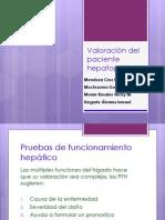 2.- VALORACION HEPATOPATA