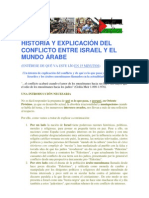 HISTORIA Y EXPLICACIÓN DEL CONFLICTO ENTRE ISRAEL Y EL MUNDO ÁRABE.pdf