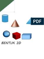 BENTUK 3D