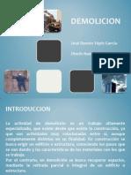 Tipos de Demolicion
