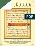 The Koran Interpreted, Arthur Arberry