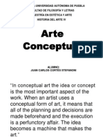JC Cortés Stefanoni - Arte Conceptual e Hiperrealismo